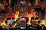 Magma Chamber VR Poster Art + Process Link by Tonywashingtonart