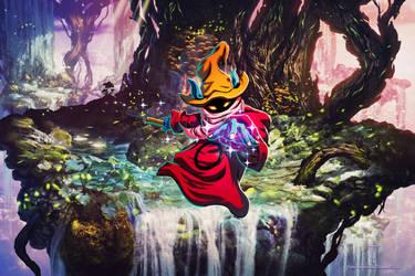 Orko - Powercon 2018 Poster by Tonywashingtonart