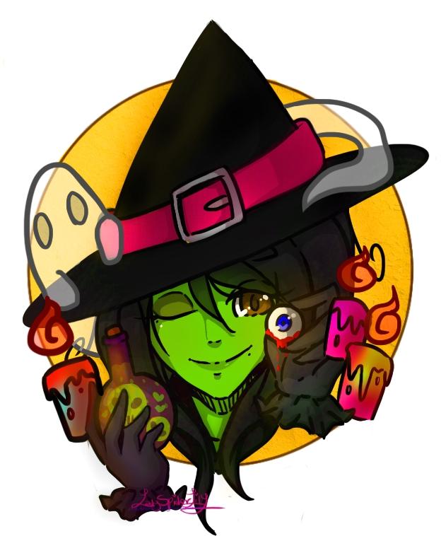 Halloween Witch~ by LadySpiderlily