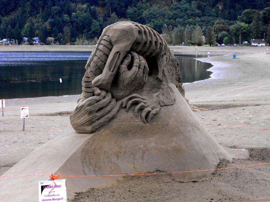 Sand Sculpture by LadamCheese