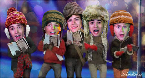 One Direction Happy Hollydays by Tokiiolicious