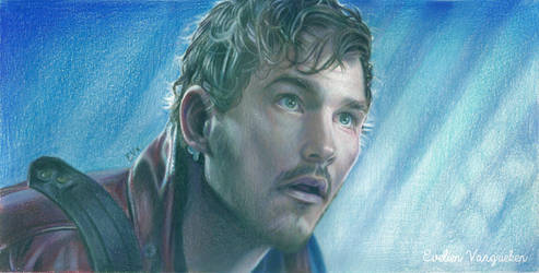Star-Lord - Guardians of the Galaxy Drawing by Tokiiolicious