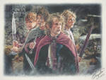 Lord Of The Rings - The Hobbits (Drawing)