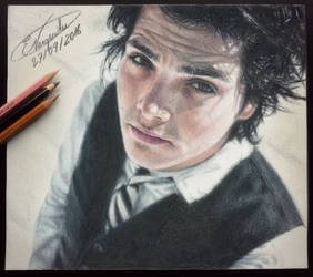 Gerard Way (Drawing) by Tokiiolicious
