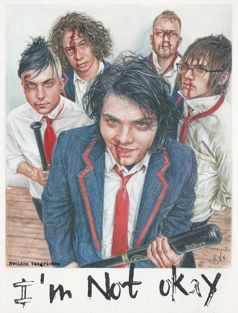 My Chemical Romance - I'm Not Okay (Drawing)