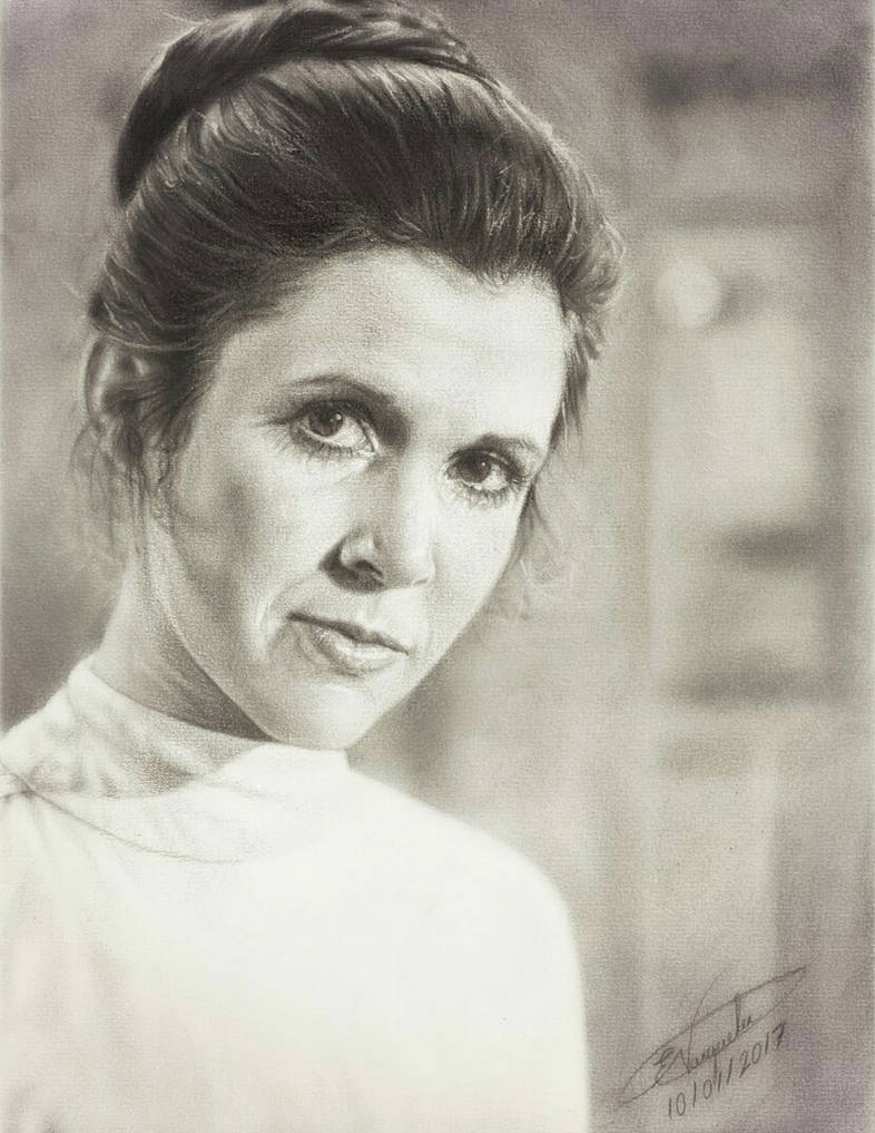 Carrie Fisher - Goodbye Princess