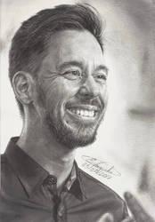 Mike Shinoda - Linkin Park (Drawing) by Tokiiolicious