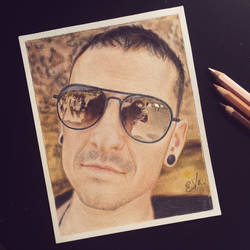 Chester Bennington - Linkin Park (Drawing)