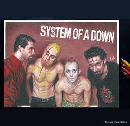 System Of A Down (Drawing)