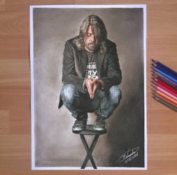 Dave Grohl - Drawing
