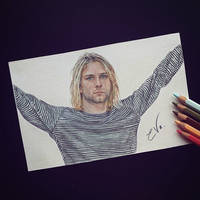 Kurt Cobain - Drawing