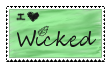 I Love Wicked Stamp by iloveblondie