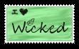 I Love Wicked Stamp by iloveblondie