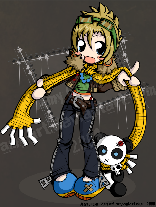 Indy - TWEWY - Entry 1 by amy-art
