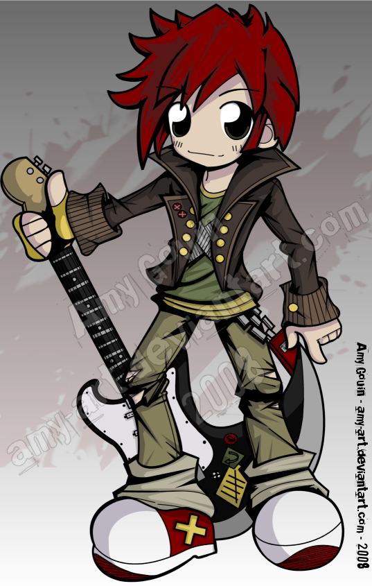 Fender - TWEWY - Entry 2 by amy-art