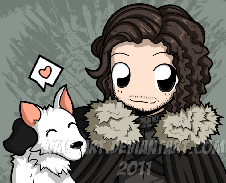 Jon Snow - Game of Thrones by amy-art