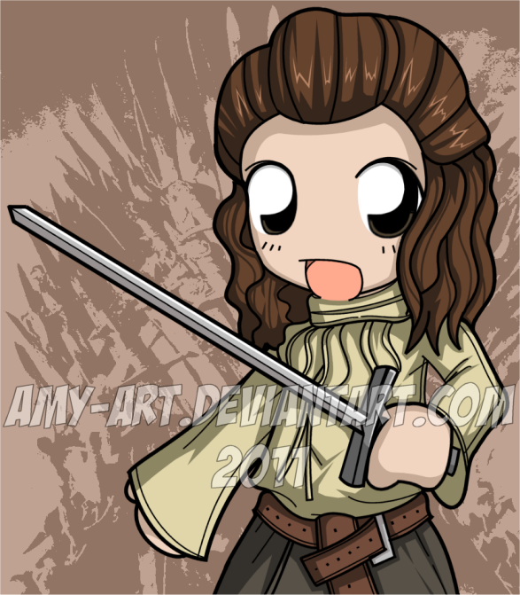 Arya Stark - Game of Thrones by amy-art