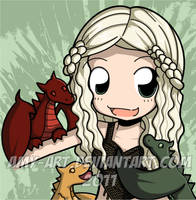 Daenerys - Game of Thrones by amy-art