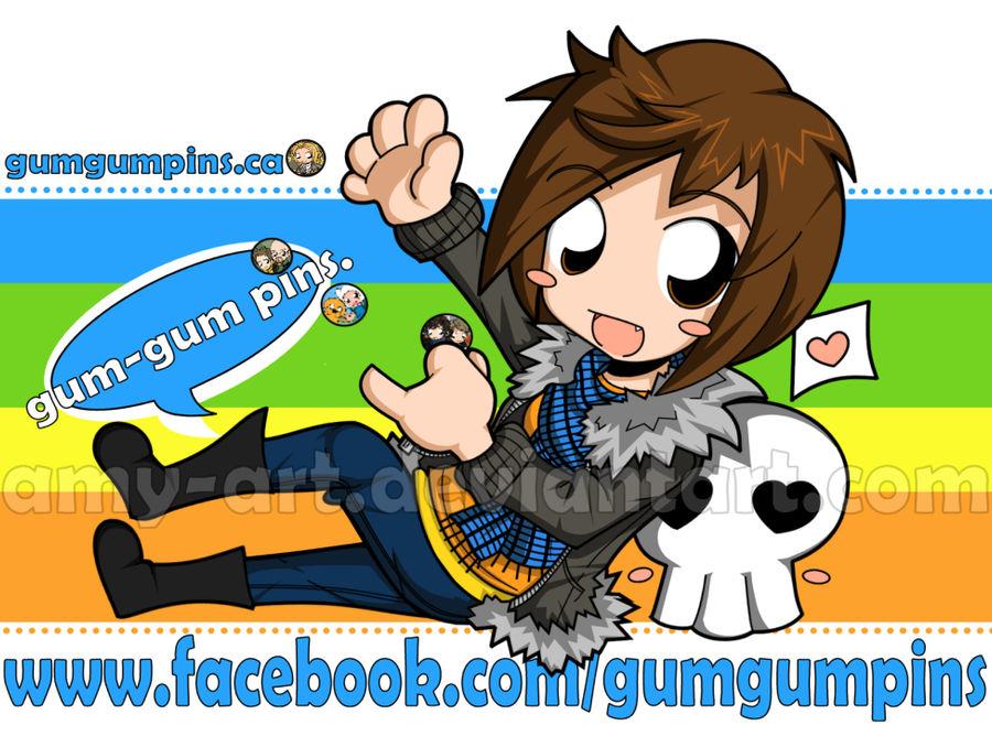 Gum-Gum Pins.