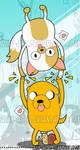 Adventure Time - Bookmark Back
