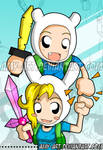 Adventure Time - Bookmark Front