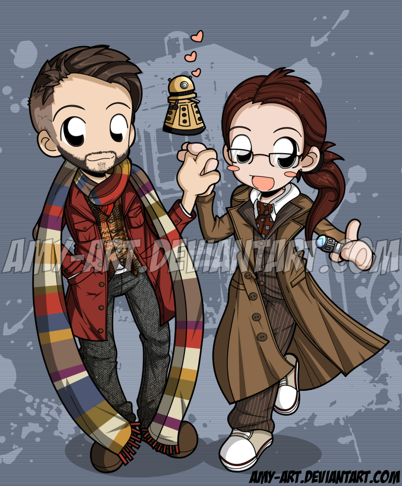 Dr. Who Xmas - Commission by amy-art