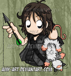 We Brought Dinner - Daryl - The Walking Dead