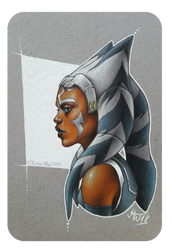 StarWars: calm Ahsoka by LeneMa7991