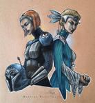 Sisters by LeneMa7991