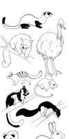 Animals - Part 1 by twapa