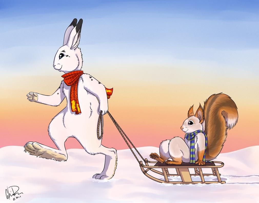 Winter fun - Adoptables by twapa