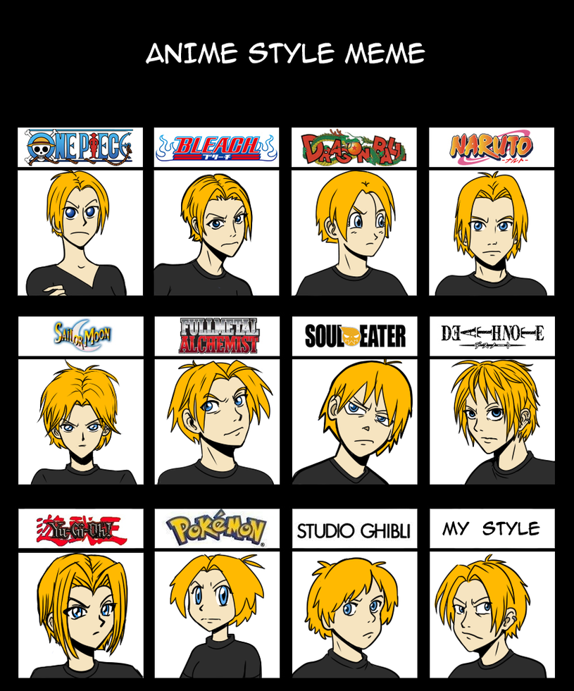 Anime Style Meme Variant By Twapa On Deviantart
