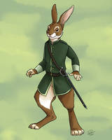 Long Patrol Hare by twapa