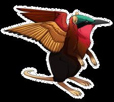 Sengi/Bee-eater Griffin by twapa