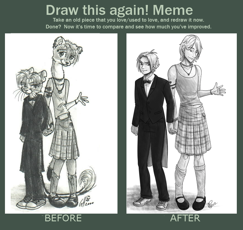 Redraw meme by twapa on DeviantArt
