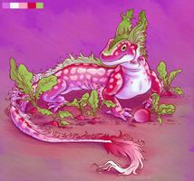 Flavormonsters - Radish Salamander by twapa