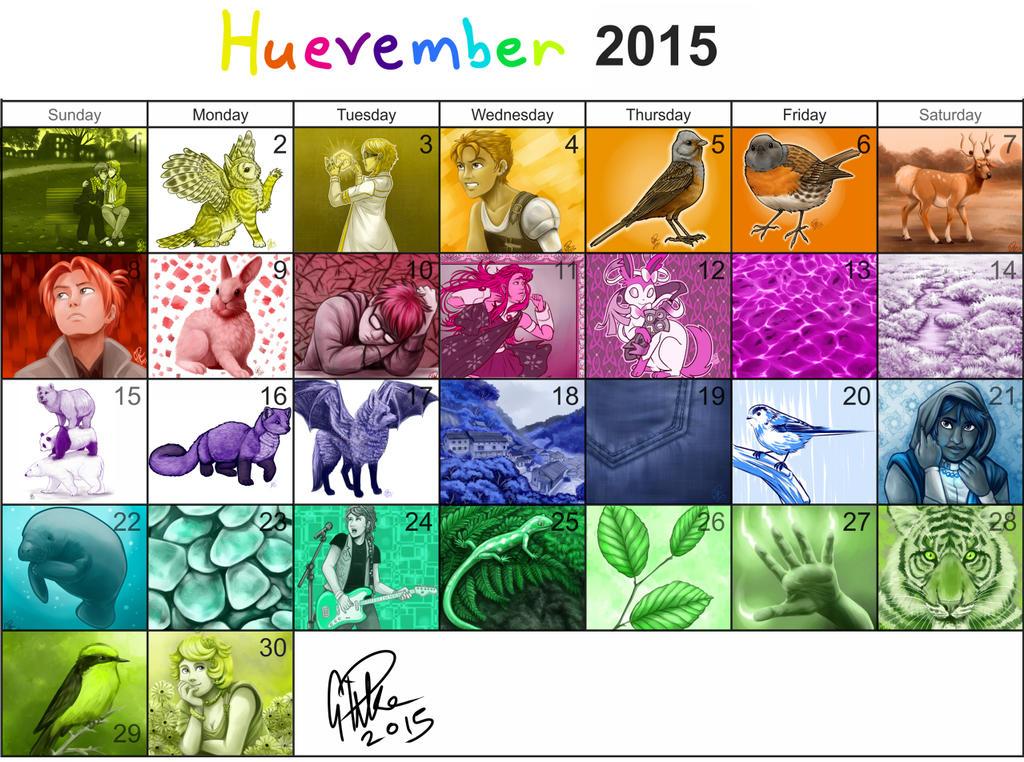 Huevember 2015 by twapa