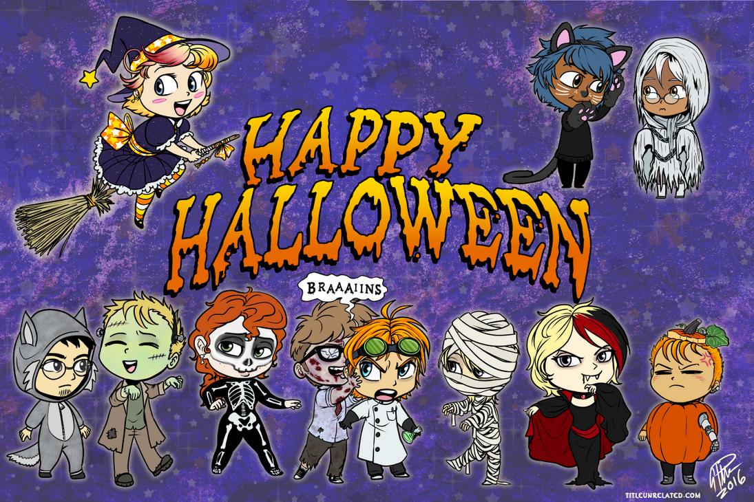 Happy Halloween 2016 by twapa on DeviantArt - Happy Halloween Day 2016