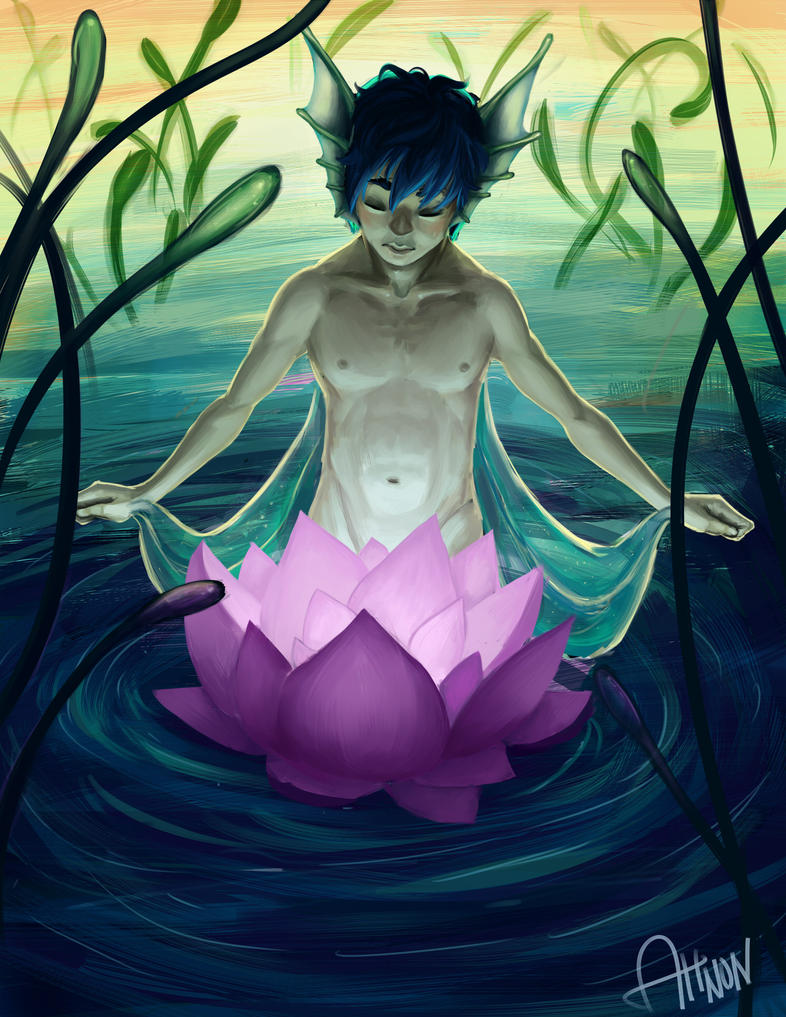 The Lotus Spirit by Zeshroom