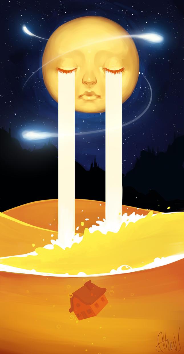 One Night // Art trade by Zeshroom