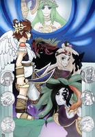 Kid Icarus: Uprising by TwilightMoon1996