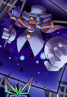 Count Bleck of Super Paper Mario by TwilightMoon1996