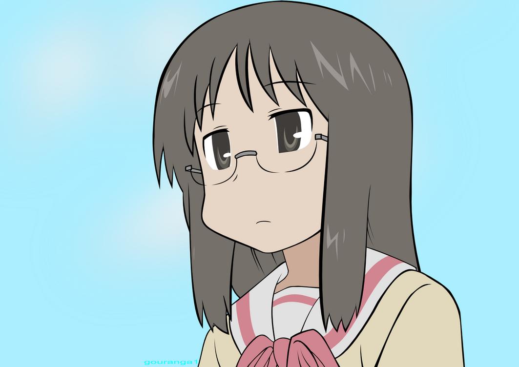 Mai Minakami from Nichijou by gouranga1
