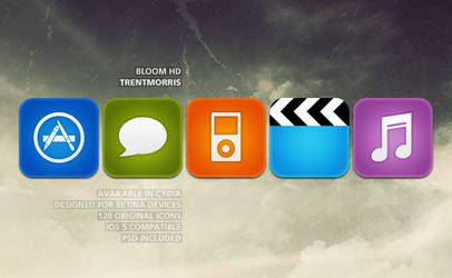 Bloom HD for iOS 6 by trentmorris