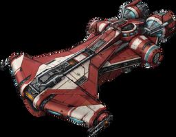 SWTOR - Jedi Starship by DoctorAnonimous