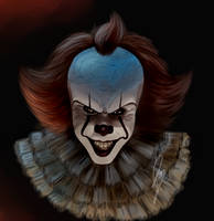 Pennywise vent art by Nawkien