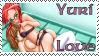 Yuri Love fan stamp by Rtalon235