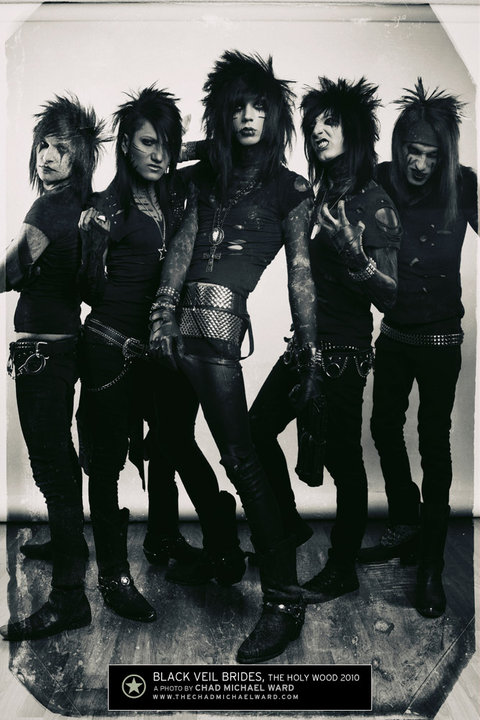 black veil brides andy. Black Veil Brides 3 by