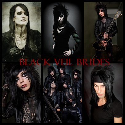 black veil brides andy. Black Veil Brides Banner by