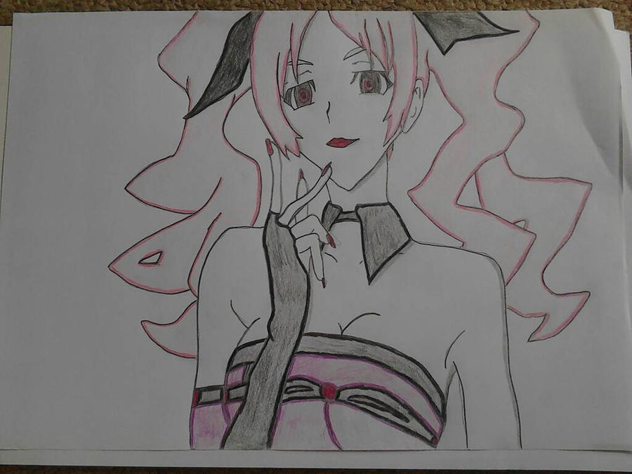 Shiki (Megumi) Drawing  by AndyBsGlove